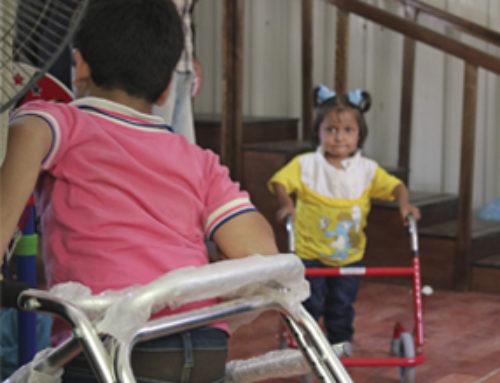 Assistenza sanitaria e attività di inclusione per i rifugiati siriani con disabilità nel campo Za'atari, Giordania