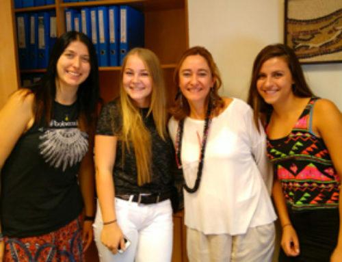Erasmus  llega a la FPSC para implementar un voluntariado de Interculturalidad, inglés y ciudadanía europea con niños