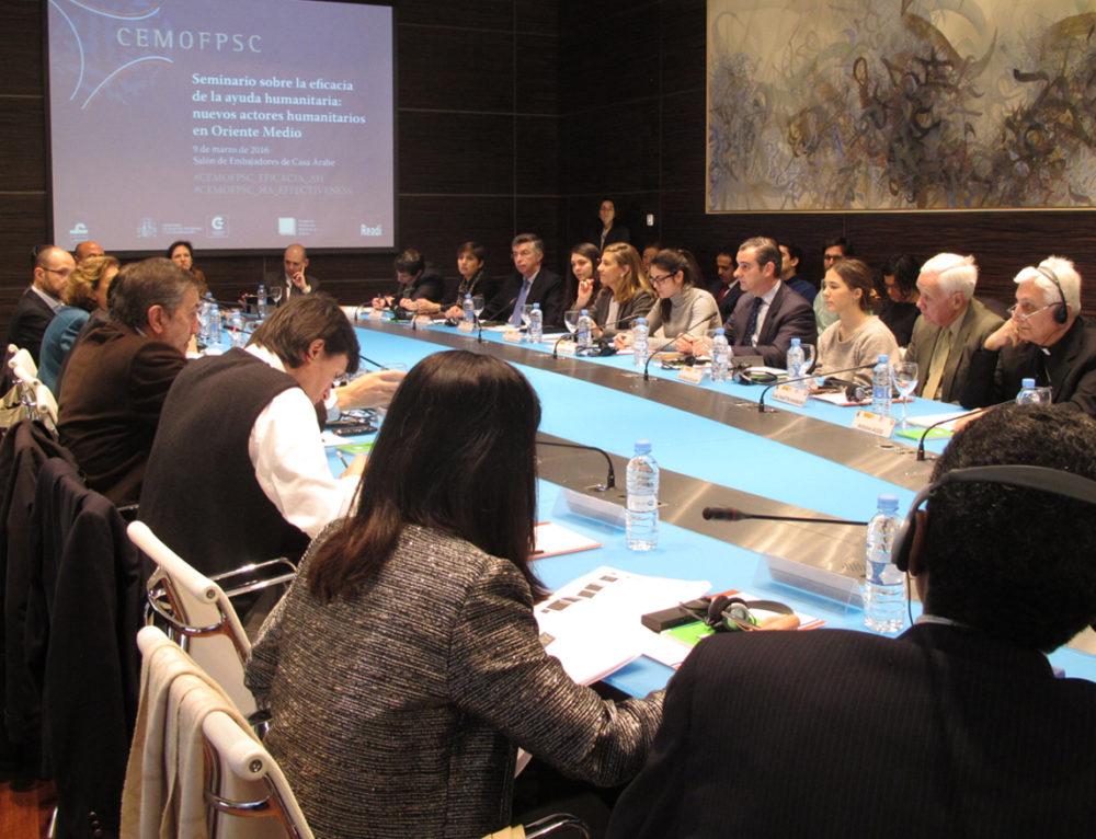 Seminario sobre la eficacia y retos de la Ayuda Humanitaria
