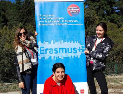 Las voluntarias del Servicio de Voluntariado Europeo (SVE) de Fundación Promoción Social llegan a Madrid para promover valores interculturales entre los jóvenes