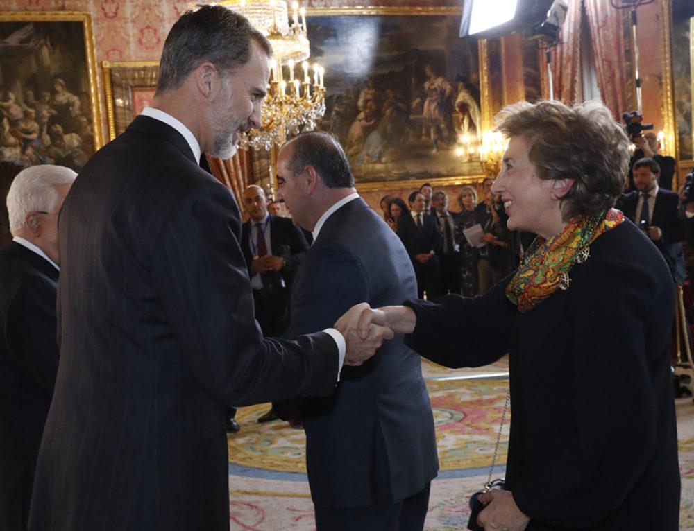 Fundación Promoción Social asiste al almuerzo ofrecido por S.M. los Reyes de España al Presidente de Palestina Mahmud Abbas