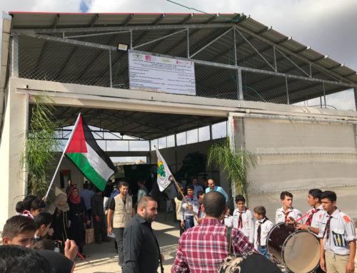Desarrollo rural en Cisjordania: Inauguración de la planta de compostaje en Azzoun