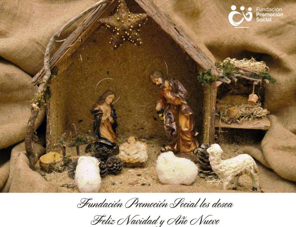 Promoción Social os desea una feliz Navidad y Año Nuevo