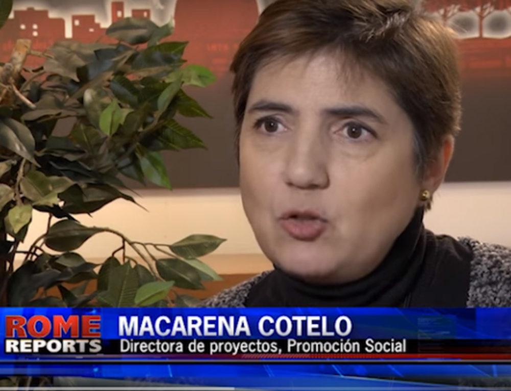 Macarena Cotelo, nuestra directora de proyectos, habla en la agencia Rome Reports sobre la situación actual en Tierra Santa