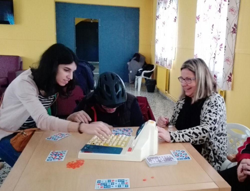 Comienza su actividad de voluntariado de ocio y acompañamiento con personas con discapacidad intelectual un nuevo grupo de mujeres jóvenes profesionales