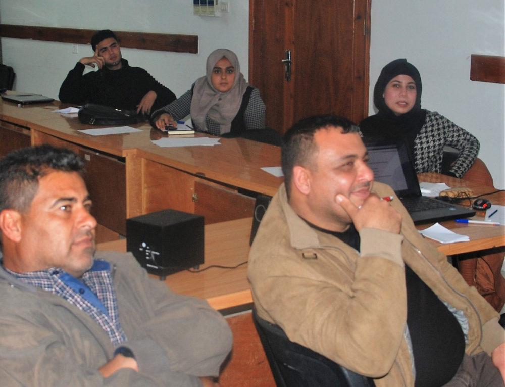 """""""Formación de formadores"""" en Gaza a través de cursos impartidos por la Universidad Politécnica de Valencia (UPV)"""