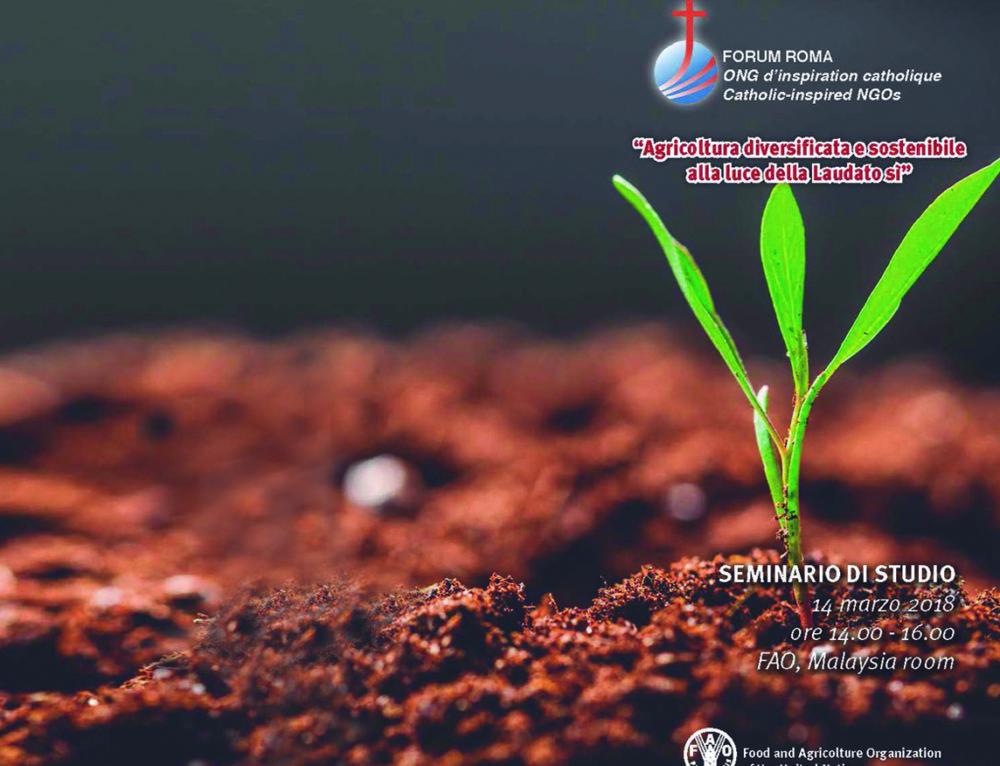 """Seminario """"Agricultura diversificada y sostenible a la luz de Laudato Si'"""""""