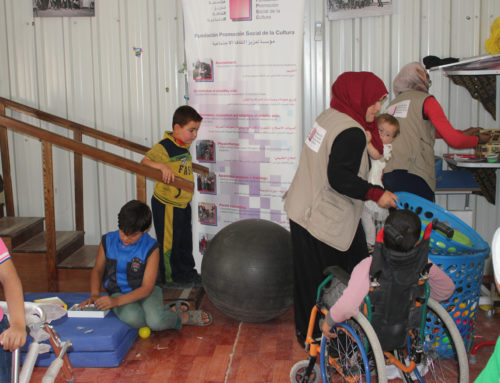 Mejorada la respuesta multidisciplinar en rehabilitación para las personas con discapacidad en el norte de Jordania