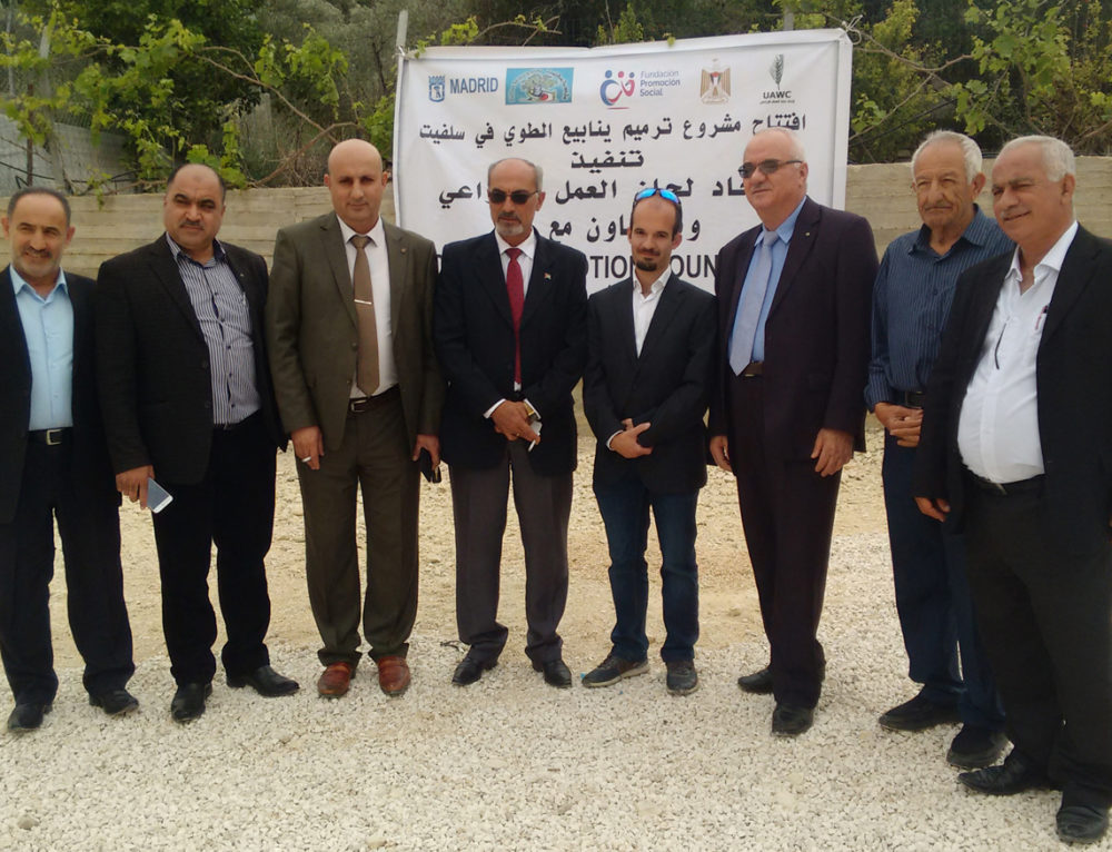 Finalizan las actividades del proyecto en Salfit (Palestina) para tratar de dar respuesta a la problemática de escasez de agua la región