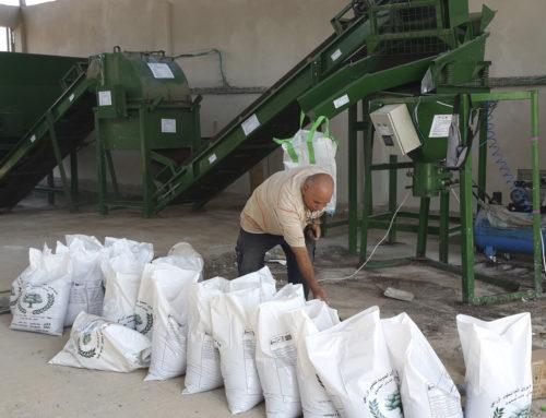 Fábrica de compost en Azzoun: uno de los grandes logros medioambientales del convenio para el desarrollo rural en Cisjordania