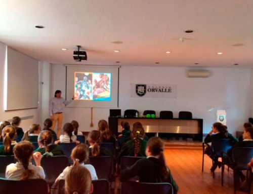 Awareness day for Primary students of the Orvalle School about the situation of Syrian refugees in Lebanon and Jordan