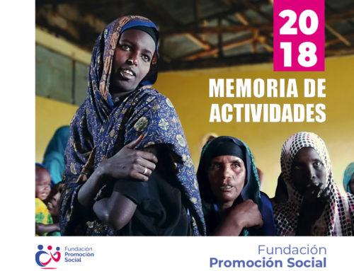 Promoción Social publica su Memoria de Actividades 2018