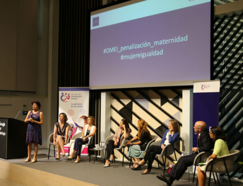 "Social Promotion Foundation introduces the Observatory ""Women and Equality"" (OMEI) in Madrid with the celebration of the round table: ""Are there 'penalties' for motherhood?"""