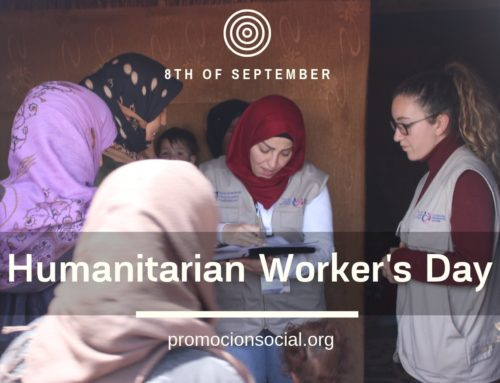 "Social Promotion Foundation joins the celebration of ""Humanitarian Worker's Day"" on the 8th of September"