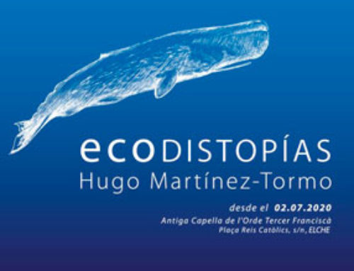 "Opening of the ""Ecodistopías"" exhibition in Elche"