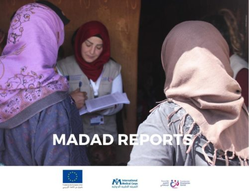 Key reports on disability and mental health in Lebanon have been produced in the framework of our MADAD projects