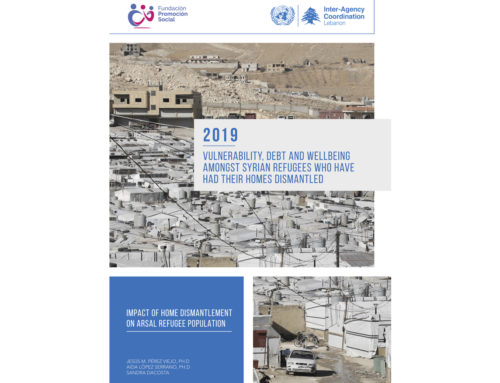 Study on the impact of the dismantling of Syrian refugee homes in Arsal, Lebanon